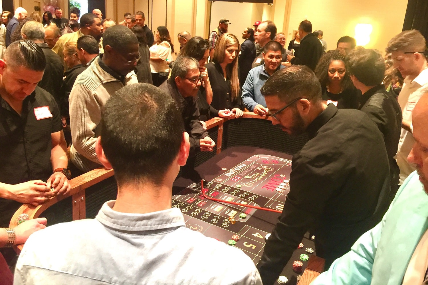 Casino Party Rentals at Vegas to Vines