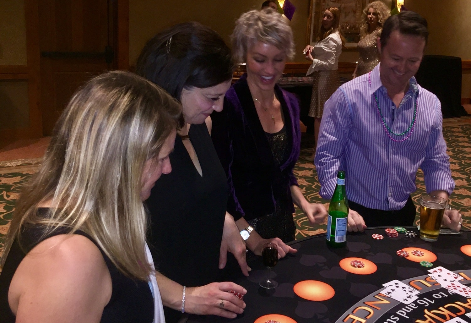 Casino Party at Winery in [location]
