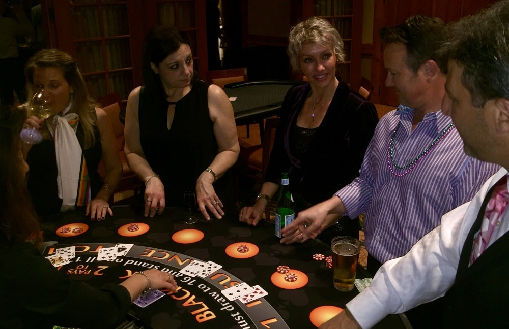 Casino Themed Party Vegas to Vines