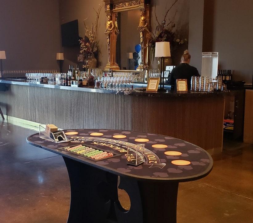 Casino parties at vineyards [location] Vegas to Vines