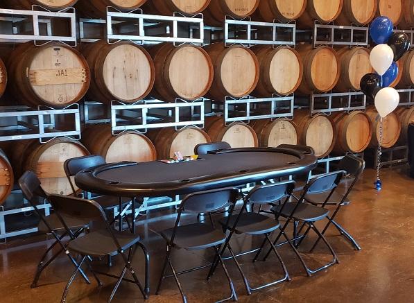 Casino Parties at California Wineries