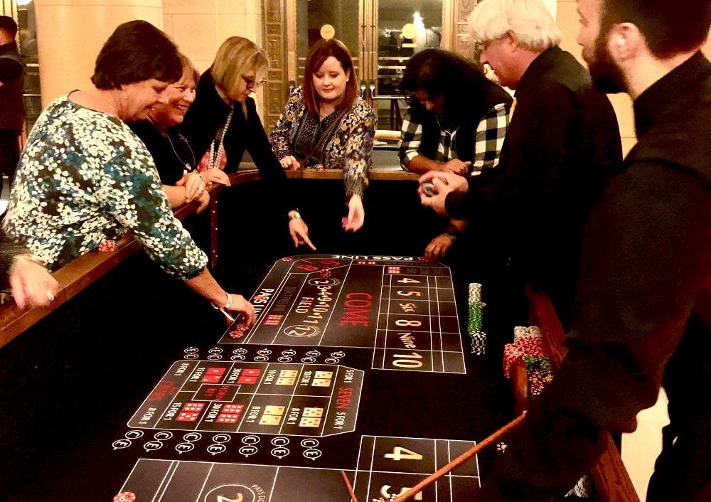 Casino Parties at Vineyards
