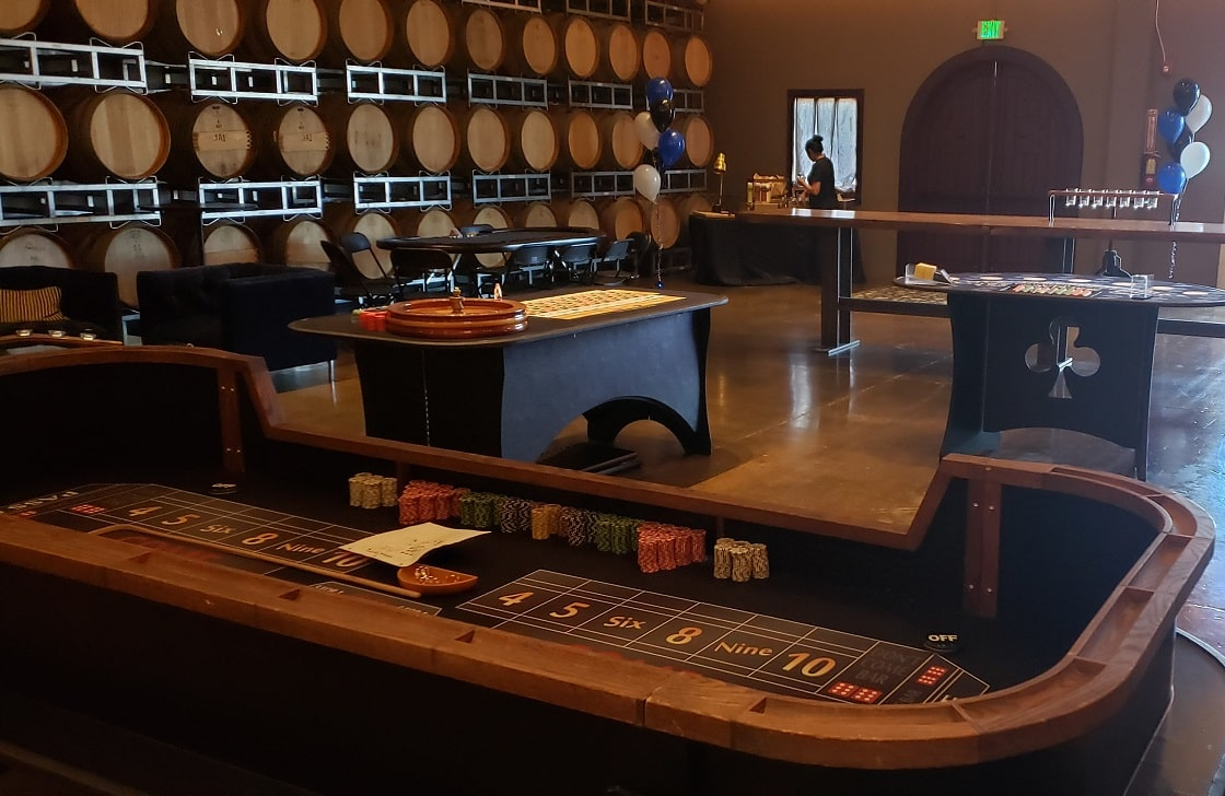 Casino Parties in Wine Country [location]